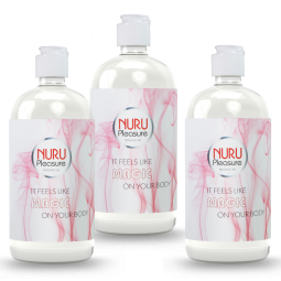 Extra korting drie nuru classic massage gel 450ml