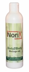 250 ML NoriX professional Body2body massage olie